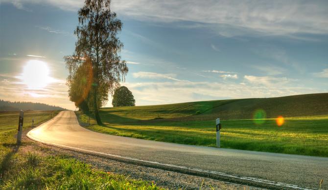 Sunset near Bad Kötzting | Nikon D5300
