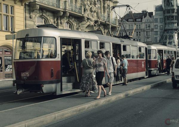 Tram in Prag | Nikon D5100