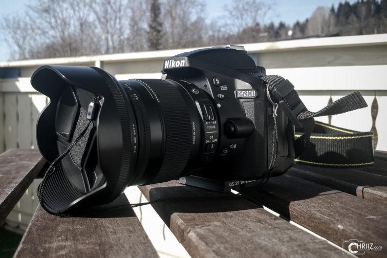Nikon D5300 mit Sigma 17-70mm