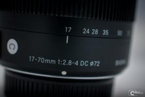 Sigma 17-70mm 2.8-4.0 Contemporary