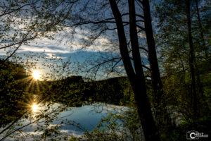 Sonnenuntergang Blaibacher See | Nikon D5300