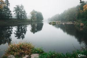 Fluss mit Nebel | Nikon D5300