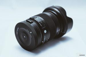 Sigma USB-Dock für Nikon mit Sigma 17-70mm