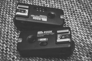 Pixel Rook Funk-Blitzauslöser