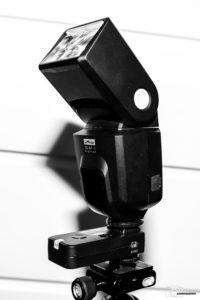 Metz 50 AF-1 Blitz mit Pixel Rook Funk-Blitzauslöser