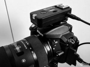 Nikon D5300 mit Pixel Rook Funk-Blitzauslöser