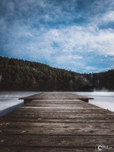 Steg am Blaibacher See | Nikon D5300