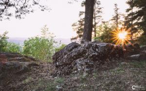 Sonnenuntergang Kaitersberg | Nikon D5300