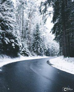 Winter Road | Nikon D5300