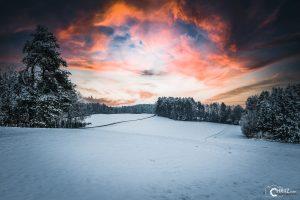Winter Sunset | Nikon D5300